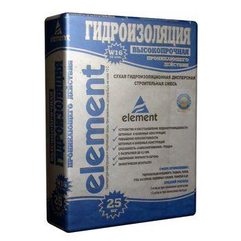 Element Гидроизоляционная смесь Element 25кг