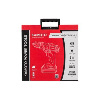 Шуруповерт Kamoto KCD1420