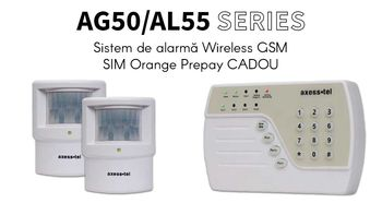 купить Сигнализация Wireless GSM AxessTel AG50 в Кишинёве