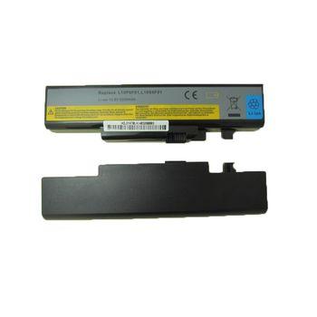 Battery Lenovo B560 IdeaPad Y460 Y560 V560 Y470 Y471 Y570 L10P6Y01 L10S6Y02 L10L6Y01 L10N6Y01 L10S6Y01 L10C6F01 L09S6D16 L09N6D16 L09L6D16 L10S6F01 10.8V 5200mAh Black OEM