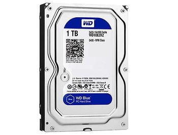 "3.5"" HDD 1TB Western Digital Blue WD10EZRZ, 5400rpm, SATA3 6GB/s, 64MB (hard disk intern HDD/внутренний жесткий диск HDD)"