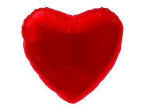 Красное сердце 30 / 76,5 см
