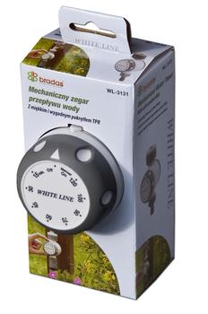 купить Таймер воды механический, до 120 мин., WHITE LINE, WL-3131 в Кишинёве