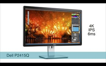 "купить 23.8"" DELL IPS LED P2415Q Black в Кишинёве"