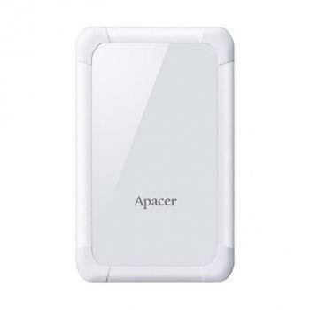 купить Внешний жесткий диск Apacer AC532 Shockproof Portable Hard Drive 2Tb, White (AP2TBAC532W-1) в Кишинёве
