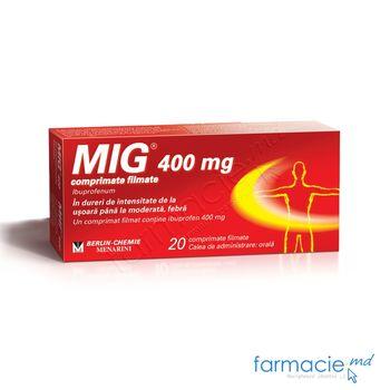 купить Миг® 400 табл. в оболочке 400 мг  N10x2 в Кишинёве