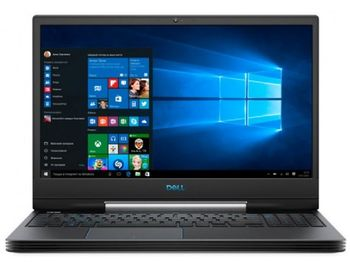 "Ноутбук Dell 15.6"" Inspiron Gaming G5 5590 Black (Core i7-9750H 16Gb 256Gb+1Tb)"