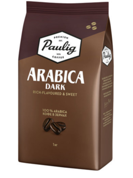 Paulig Arabica Dark 1кг (зерно)