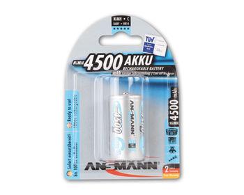 Ansmann AA NiMH C/HR 14,   4500mAh , 2pack(blister)