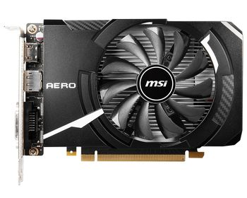MSI GeForce GTX 1650 D6 AERO ITX OC  /  4GB GDDR6 128Bit 1620/12000Mhz, 1xDVI-D, 1xHDMI, 1xDisplayPort, Single Fan - ITX Thermal Design, Custom PCB, NVIDIA Ansel, OC Scanner, Retail