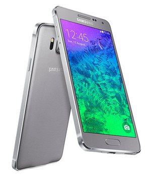 Samsung G850F Galaxy Alfa, Sleek Silver