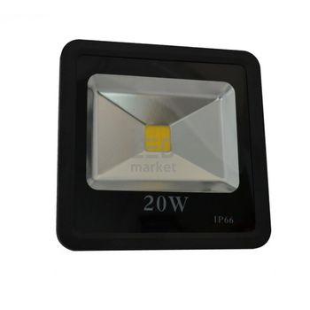 купить Светодиодный прожектор SMD 20W black 6000K в Кишинёве