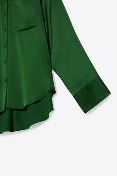 Блуза ZARA Зеленый 2731/277/500