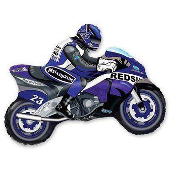купить Мотоциклист Синий в Кишинёве