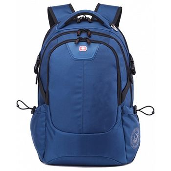 "15.6"" NB backpack Continent  - BP-306BU (Schwyzcross), Blue, Main Compartment: 38 x 28 x 4 cm, Dimensions: 46 x 33 x 20 cm"