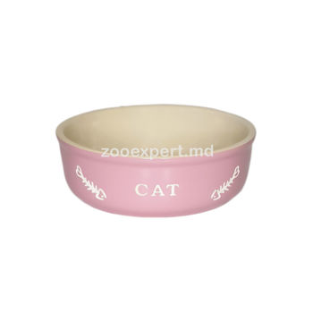 "Сastron ceramic "" Pink cat """