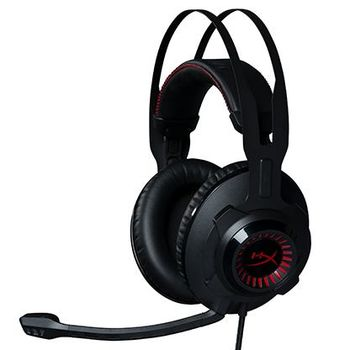 HyperX Revolver Headset, Black/Red, Durable steel frame, Microphone: detachable, Frequency response: 12Hz–28,000 Hz, Cable length:1m+2m extension, 3.5 jack, Braided cable, Driver dynamic, 50mm with neodymium magnets