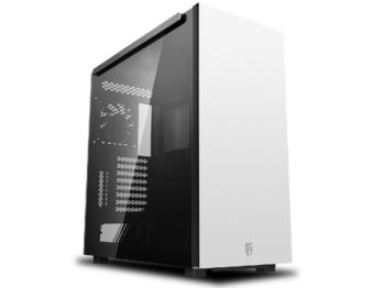 Корпус ATX Deepcool GamerStorm MACUBE 550, без блока питания, 1x120 мм, пылевой фильтр, панель Magn.TG, USB3.0, черный