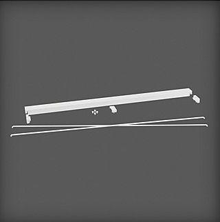 cumpără Set accesorii pentru stabilizare 900x40x31 mm, alb în Chișinău