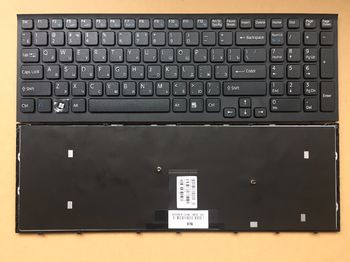 Keyboard Sony VPCEB w/frame ENG/RU Black