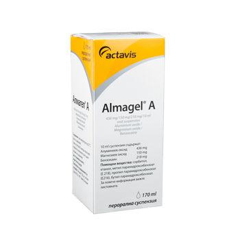 cumpără Almagel A 170ml susp. orala în Chișinău