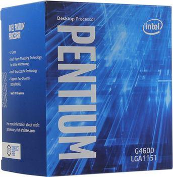 Intel® Pentium® Dual-Core G4400, S1151, 3.3GHz, 3MB L2, Intel® HD Graphics 510, 14nm 54W, BOX