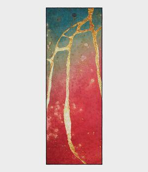 Ковер полотенце для йоги Manduka Towels Yogitoes Stained Glass