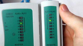 купить Портативный кабельный тестер витой пары Cor-X UA-3093 в Кишинёве