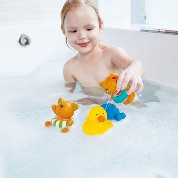 купить Hape Игрушка для ванны Тедди и друзья в Кишинёве