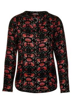 Блуза Street One Черный с принтом
