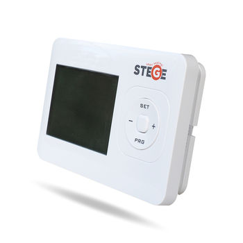 Термостат программируемый электронный беспроводной Stege WT100RF