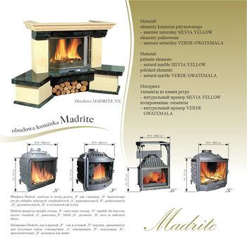 Каминная облицовка - Jabo Marmi MADRITE