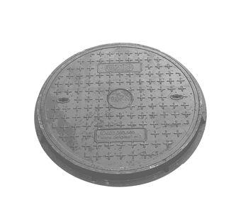 купить Крышка с рамой для колодца ф.700 х 30/ 2т сер./темно сер  (760x45x22kg) в Кишинёве