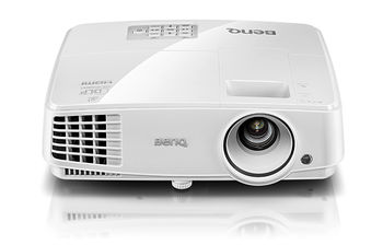 """купить DLP XGA   Projector 3200Lum,  13000:1 BenQ """"MX570"""", LAN Control, White Projection System: DLP;  Resolution: XGA (1024x768);  Resolution Support: VGA(640 x 480) to UXGA(1600 x 1200);  Brightness (ANSI lumens): 3200 ANSI lumens;  Contrast Ratio (FOFO): 13000:1;  Display Color: 30 Bits (1,07 billion colors);  Aspect Ratio: Native 4:3 (5 aspect ratio selectable);  Light Source: Lamp;  Light Source Wattage: 190W;  Light Source life*: Normal 4500 hr; Economic 6000 hr; SmartEco 6500 hr; LampSave 10000hr;   Optical  Throw Ratio: 1.51~1.97 (65""""@ 2m);  Zoom Ratio:  1.3X;  Lens: F/#=2.59~2.87; f=16.88~21.88;  Keystone Adjustment: 1D, Vertical +/- 40 degrees;  Projection Offset**: 115%±5%;  Clear Image Size (Diagonal): 60""""~180"""";  Image Size: 30""""~300"""";  Horizontal Frequency: 15K~102KHz;  Vertical Scan Rate: 23~120Hz;   Audio    Speaker: 10W x 1;  Interface: PC (D-sub) x2; Monitor out (D-sub 15pin); S-Video in (Mini DIN 4pin); Composite Video in (RCA); HDMI 1.4a;  USB Type Mini B (Download & Page up/down);  Audio in (3.5mm Mini Jack);  Audio out (3.5mm Mini Jack);  LAN (RJ45);  RS232 (DB-9pin);  IR Receiver (Front);  Security Bar;   Compatibility   HDTV Compatibility: 480i, 480p, 576i, 567p, 720p, 1080i, 1080p;  Video Compatibility: NTSC, PAL, SECAM;   Environment   Power Supply: AC 100 to 240 V, 50/60 Hz;  Typical Power Consumption: 280W(Normal); Standby Power Consumption <0.5W; Network Stand-by Power Consumption <3W;  Acoustic Noise (Typ./Eco.) 33/28dBA;  Operating Temperature 0~40℃;   Dimensions (W x H x D)(mm) 283 x 222 x 95;  Net Weight (Kg/ lbs ) 1.9kg(4.2 lbs);   Accessories (Standard): Remote Control w/ Battery (RCX022), Power Cord (by region), User Manual CD, Quick Start Guide, Warranty Card (by region), VGA(D-sub 15pin) Cable в Кишинёве"""