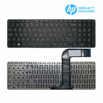 "Keyboard HP Pavilion 15-P 15-p00 17-F  w/o frame ""ENTER""-Big ENG/RU Black"