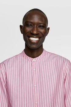 Рубашка ZARA Розовый в полоску zara 8211/360/094