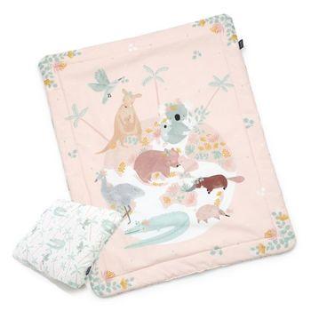 купить Набор подушка+одеяло из хлопка La Millou –  Dundee & Friends Pink в Кишинёве