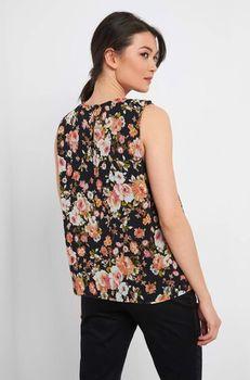 Блуза ORSAY Черный с принтом