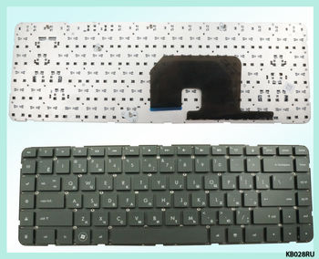 "Keyboard HP Pavilion dv6-3000 w/o frame ""ENTER""-small ENG/RU Black"