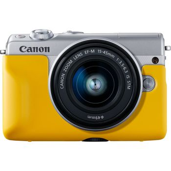 Plastic Face Jacket Canon EH31-FJ Yellow for EOS M100