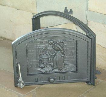 купить Дверца чугунная глухая правая DCHS2-P в Кишинёве
