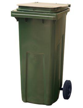 120L, Kонтейнеры для мусора, зеленый