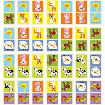 купить Domino Farm Animals в Кишинёве