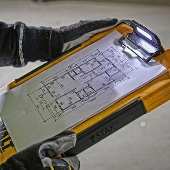 купить Планшет с органайзером TSTAK Clipboard DWST82732-1 в Кишинёве