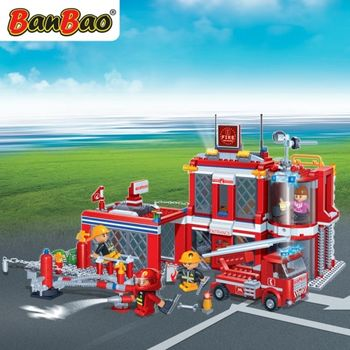 BanBao 7101 New Fire - 828 blocks