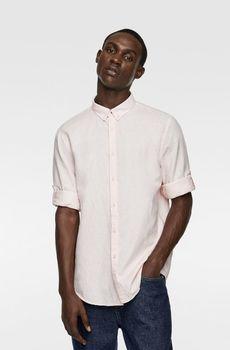 Рубашка ZARA Светло розовый zara 7545/402/620