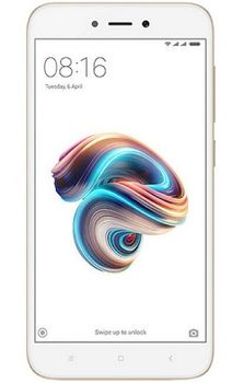 "Xiaomi RedMi 5A EU 16GB Gold,  DualSIM, 5.0"" 720x1280 IPS, Snapdragon 425, Quad-Core 1.4GHz, 2GB RAM, Adreno 308, microSD (dedicated slot), 13MP/5MP, LED flash, 3000mAh, WiFi-N/BT4.1, FM-Radio, LTE, Android 7.1.2 (MIUI 9)"