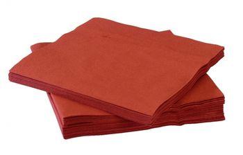 Столовые салфетки, 2str, 33x33, 200шт, Terracotta, Advanced