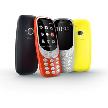 купить Nokia 3310 Dual sim, Yellow в Кишинёве
