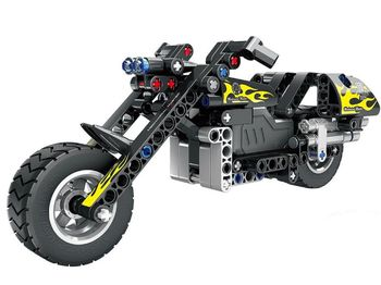 5801, XTech Bricks: Pull Back Motorbike, 183 pcs